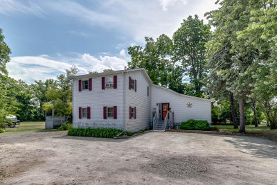 Kenosha County Single Family Home Active Contingent With Offer: 8009 Antioch Rd