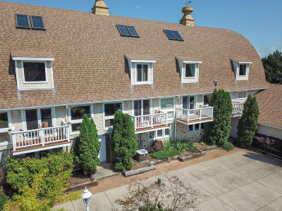 Racine County Condo/Townhouse Active Contingent With Offer: 28641 N Lake Dr #2