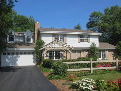 Ozaukee County Single Family Home Active Contingent With Offer: 2080 Lake Shore Rd