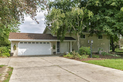 Mukwonago Single Family Home Active Contingent With Offer: S87w27765 Lakeview Ln