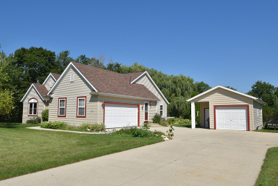 Menomonee Falls Single Family Home Active Contingent With Offer: N72w14100 Good Hope Rd