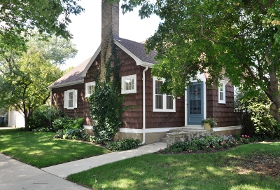 Whitefish Bay Single Family Home Active Contingent With Offer: 5901 N Shoreland Ave