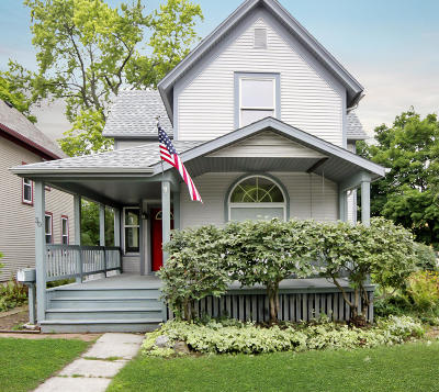 Plymouth Single Family Home Active Contingent With Offer: 30 S Milwaukee St