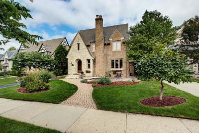 Whitefish Bay Single Family Home For Sale: 1578 E Cumberland Blvd