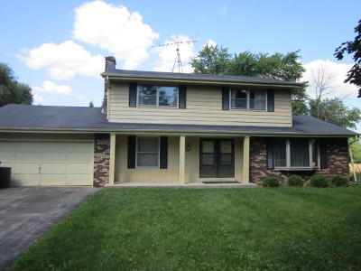 Caledonia Single Family Home Active Contingent With Offer: 12940 7 1/2 Mile Rd