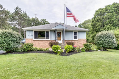 Pleasant Prairie WI Single Family Home Active Contingent With Offer: $225,000