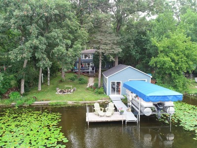 Mukwonago Single Family Home Active Contingent With Offer: S107w34898 S Shore Dr