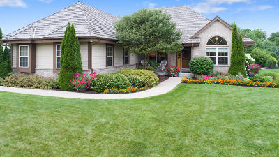 Menomonee Falls Single Family Home Active Contingent With Offer: W169n7683 Overlook Trl