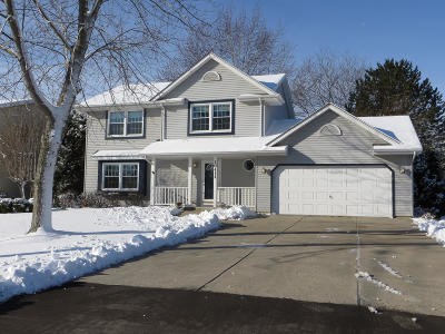 Pleasant Prairie WI Single Family Home For Sale: $309,900