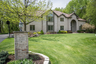Delafield Single Family Home For Sale: W309n1693 Greywood Ln
