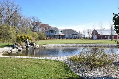 Racine County Single Family Home For Sale: 3663 Britton Ridge