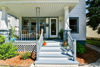 Milwaukee Single Family Home Active Contingent With Offer: 3024 S Delaware Ave