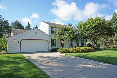 Oconomowoc Single Family Home Active Contingent With Offer: 955 Old Tower Rd