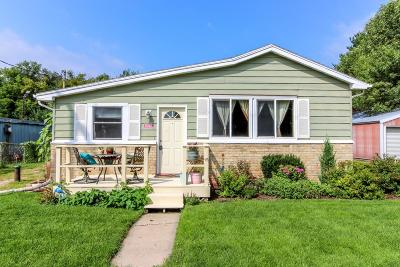 Cambridge Single Family Home Active Contingent With Offer: 2171 County Road W