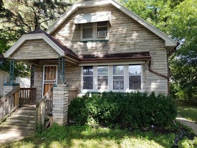 Milwaukee Single Family Home For Sale: 5432 N 41st St