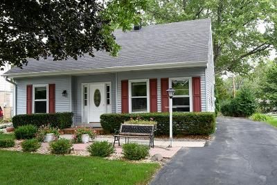 Milwaukee County Single Family Home Active Contingent With Offer: 8180 N Regent Rd