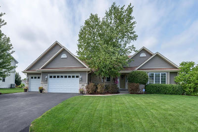 Racine Single Family Home Active Contingent With Offer: 6902 Elderberry Rd