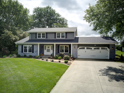 Waukesha Single Family Home Active Contingent With Offer: S41w27443 Timber Trl