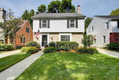 Whitefish Bay Single Family Home For Sale: 4931 N Elkhart Ave