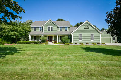 West Bend Single Family Home Active Contingent With Offer: 3350 Rock Ridge Rd