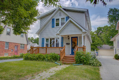 Whitefish Bay Single Family Home For Sale: 4823 N Idlewild Ave