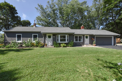Menomonee Falls Single Family Home Active Contingent With Offer: W142n7025 Oakwood Dr