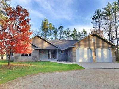 Wausaukee Single Family Home For Sale: N13648 Otter Way