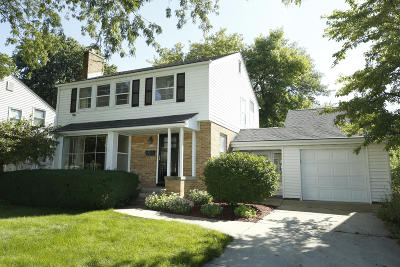 Whitefish Bay Single Family Home Active Contingent With Offer: 6244 N Santa Monica Blvd