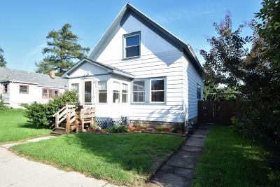 South Milwaukee WI Single Family Home Active Contingent With Offer: $99,500