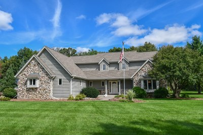 Lisbon Single Family Home Active Contingent With Offer: N71w26900 White Pine Dr
