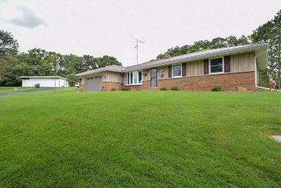 Whitewater Single Family Home For Sale: W9676 Stader Rd