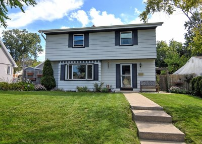 West Allis Single Family Home Active Contingent With Offer: 732 S 101st St