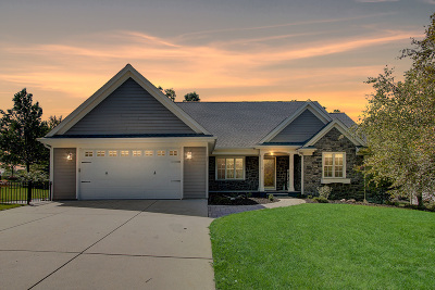 West Bend Single Family Home Active Contingent With Offer: 109 Lower Woodford Cir
