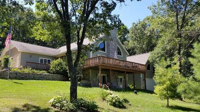 Wisconsin Dells Single Family Home For Sale: E9420 Pebblebeach Dr