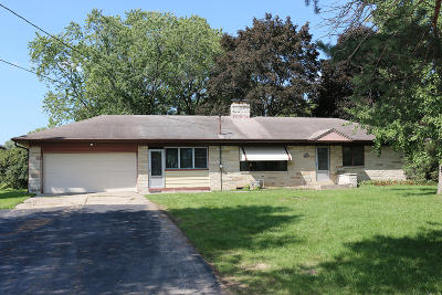 Brookfield Single Family Home Active Contingent With Offer: 4585 Pilgrim Rd