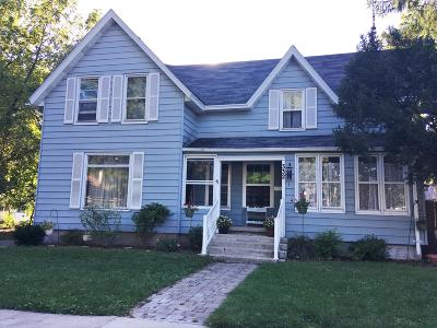 Fort Atkinson WI Single Family Home Active Contingent With Offer: $189,900