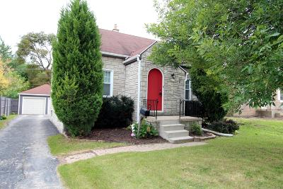 Greenfield Single Family Home Active Contingent With Offer: 4527 W Morgan Ave