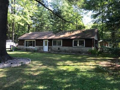 Single Family Home For Sale: N8642 Pines Rd