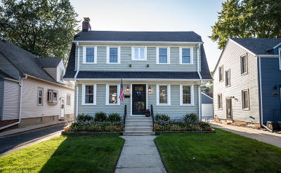 Whitefish Bay Single Family Home Active Contingent With Offer: 5939 N Kent Ave