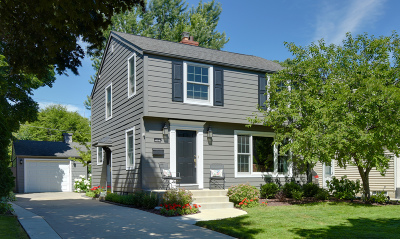 Whitefish Bay Single Family Home Active Contingent With Offer: 5023 N Shoreland Ave