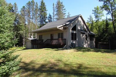 Amberg Single Family Home For Sale: W4435 County Rd K