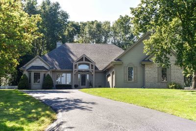 Pewaukee Single Family Home Active Contingent With Offer: N41w27225 Roger Rd