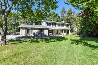 Milwaukee County Single Family Home Active Contingent With Offer: 9029 N Lake Dr