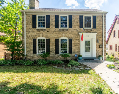 Single Family Home For Sale: 8811 Jackson Park Blvd