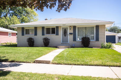 Racine Single Family Home Active Contingent With Offer: 4107 Lasalle St