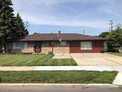 Single Family Home For Sale: 5745 N 76th St