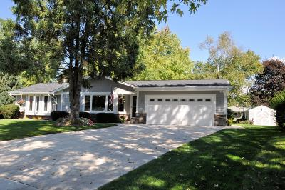 Muskego Single Family Home Active Contingent With Offer: W134s6764 Fleetwood Rd