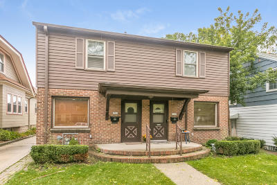 Shorewood WI Two Family Home For Sale: $290,000
