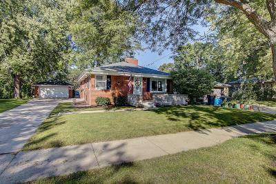 West Allis Single Family Home Active Contingent With Offer: 2519 S 96th St