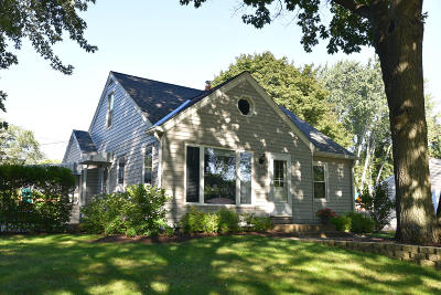 Wauwatosa Single Family Home Active Contingent With Offer: 1745 N 118th St